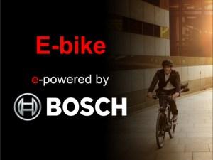 E-bikes met Bosch motor
