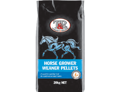 Thompson and Redwood Horse Grower Weaner Pellets