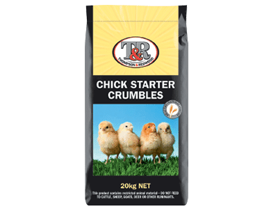 Thompson and Redwood Chick Starter Crumbles