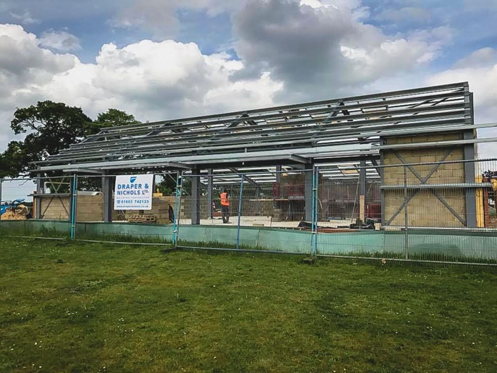 Thompson Community Hall progress-19