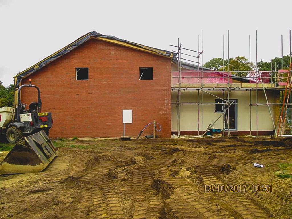 Thompson Community Hall progress-36