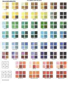 Color charts also enameling help and information thompson enamel rh thompsonenamel