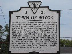 Boyce Sign