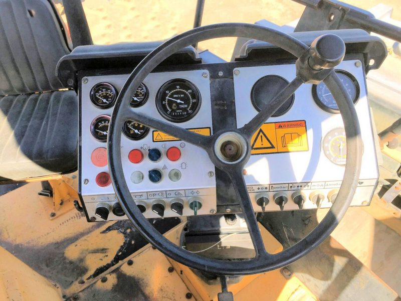 1998 Dynapac CC501 Dash Wheel and Controls