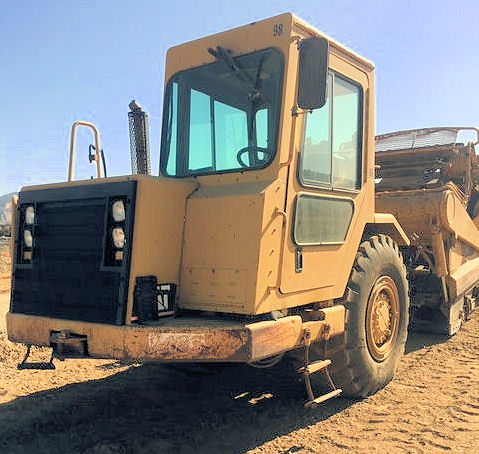 2000 Caterpillar 613C II Left Front