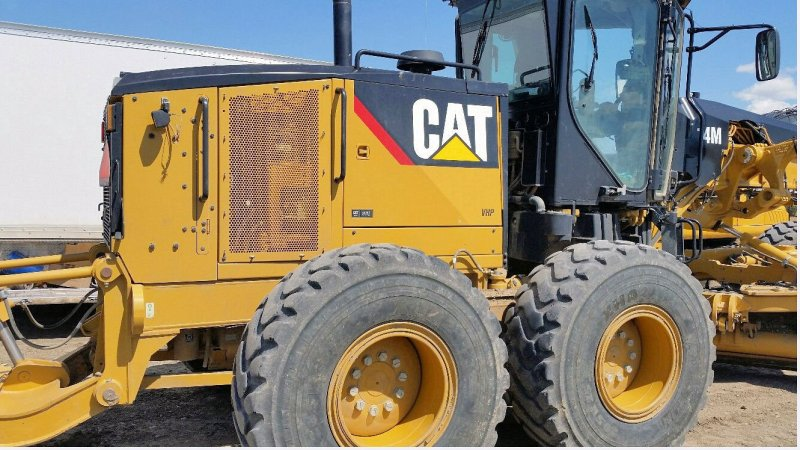 2014 Caterpillar 14M VHP Right Side