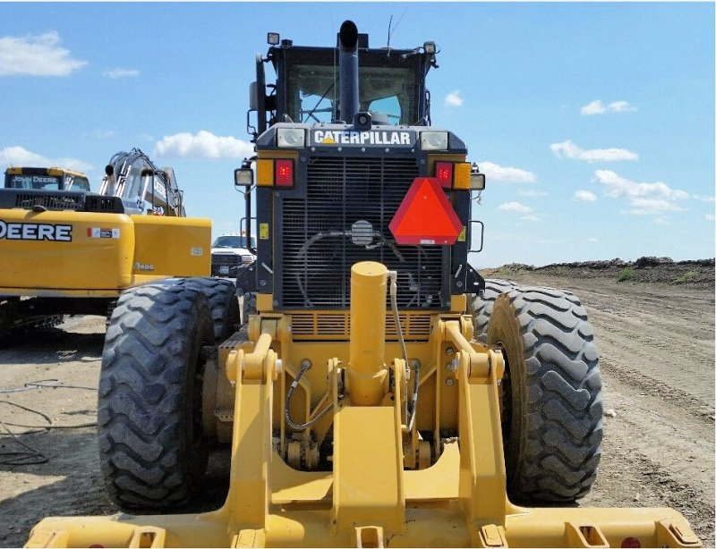 2014 Caterpillar 14M VHP Rear