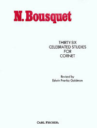 Bousquet - Thirty Six Celebrated Studies for Cornet/Trumpet