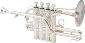 Schilke P7-4 Bb/A Piccolo Trumpet in Silver
