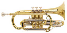 Bach Stradivarius Shepherd's Crook Bb Cornet Model 184