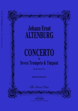 Altenburg -- Concerto for 7 Trumpets and Timpani