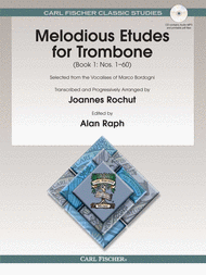 Bordogni/Rochut - Melodious Etudes for Trombone with CD