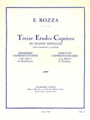 Bozza, Eugene - 13 Caprices