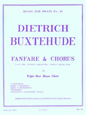 Buxtehude -- Fanfare and Chorus for Brass Octet