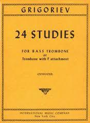 Grigoriev -- 24 Studies for Bass Trombone
