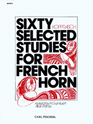 Kopprasch -- Sixty Selected Studies for French Horn, Book 2