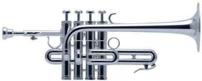 Schilke P5-4 Bb/A Piccolo Trumpet in Silver plate