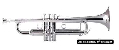 Schilke HD Series Bb Trumpet in Silver