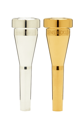 Denis Wick Heavy Top Trumpet Mouthpiece In Silver Thompson Music