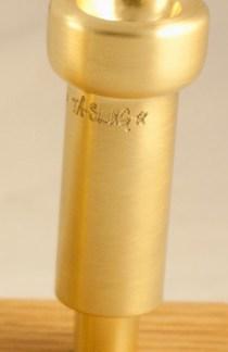 Austin Custom Brass Slug* Blank Mouthpiece