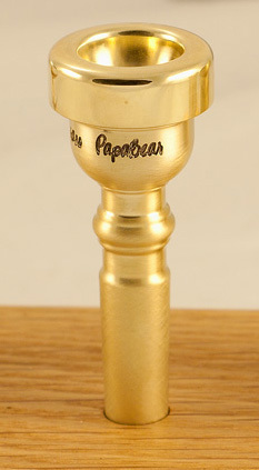 Austin Custom Brass Traditional Blank Mouthpiece