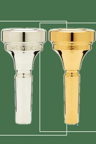 Denis Wick Classic Trombone Mouthpiece in Silver