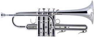 Schilke E3L-4 Eb Trumpet in Silver
