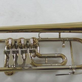 Cerveny ATR501 Bb Rotary Trumpet SN 491057