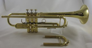 Used Shires CVLA Bb ML Trumpet SN 2699