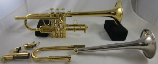 Stomvi Elite Eb/D Trumpet in Gold Plate SN 979356