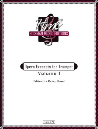 Opera Excerpts for Trumpet Vol. 1 HME 370