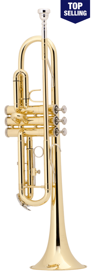 Bach TR300H2 Bb Student Trumpet