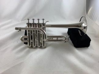 Used Yamaha YTR-9830 Bb/A Piccolo Trumpet SN 010396