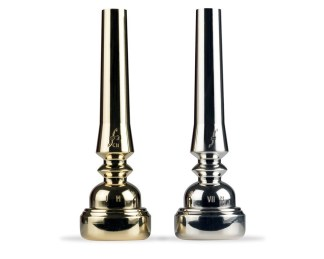 Bach Trumpet Mouthpiece in Silver Plate
