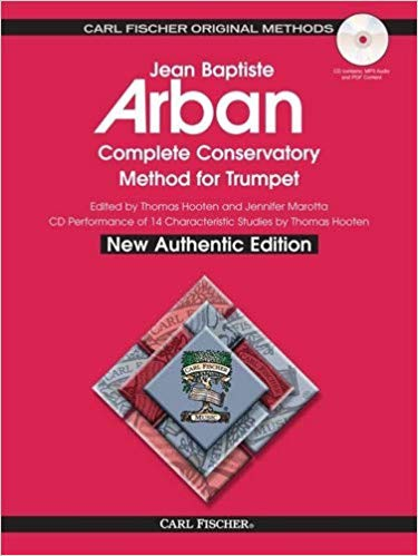 Arban Complete Conservatory Method for Trumpet - Carl Fischer