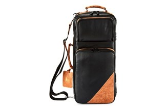 4-ECLK GARD Elite Compact Double Trumpet Gig Bag Leather