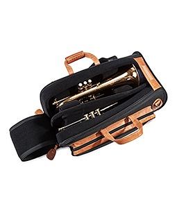 17-ESK Gard Elite Trumpet+Flugelhorn Gig Bag Synthetic with Leather Trim
