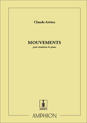 Arrieu - Mouvements for Trombone and Piano