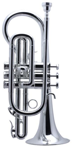 Schilke XA1 Bb Cornet in Silver Plate