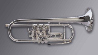"Oberrauch Rotary Trumpet in Bb Model ""Uberetsch"" Heavy"