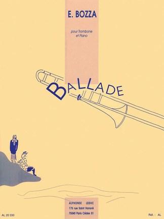 Ballade for Trombone & Piano - Bozza