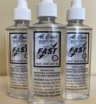 Al Cass Fast Valve Oil --- 2 oz. Bottle (3 - Pack)