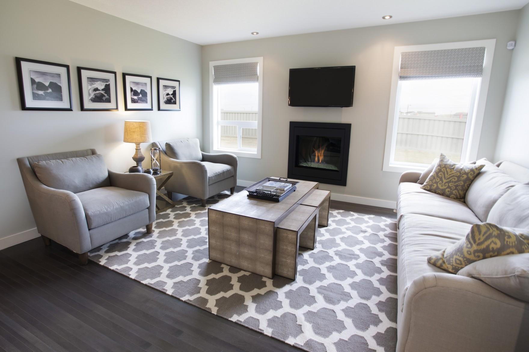 living room show homes furniture arrangements westbury showhome thomsen built creekwood chappelle home the