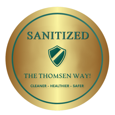 The Thomsen Way Seal of Approval, Cleaning the Thomsen Way, Cleaner, safer, healthier