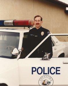 Traffic Officer Gerry Goldshine circa 1985