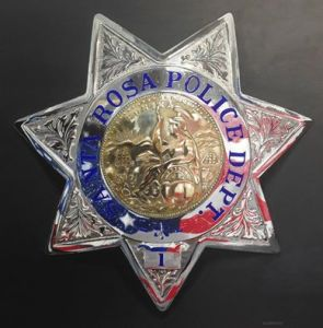 SRPD Badge by Tom Swearingen