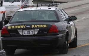 CHP patrol car