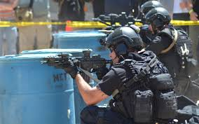 LAPD SWAT exercise