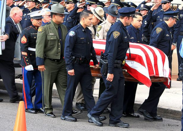 Funeral for Phoenix Police Officer Issac Ros