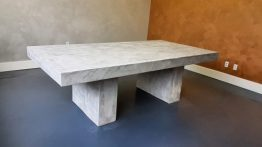 Thor & Partners . Luxury Elements Restoration of a Concrete Desk